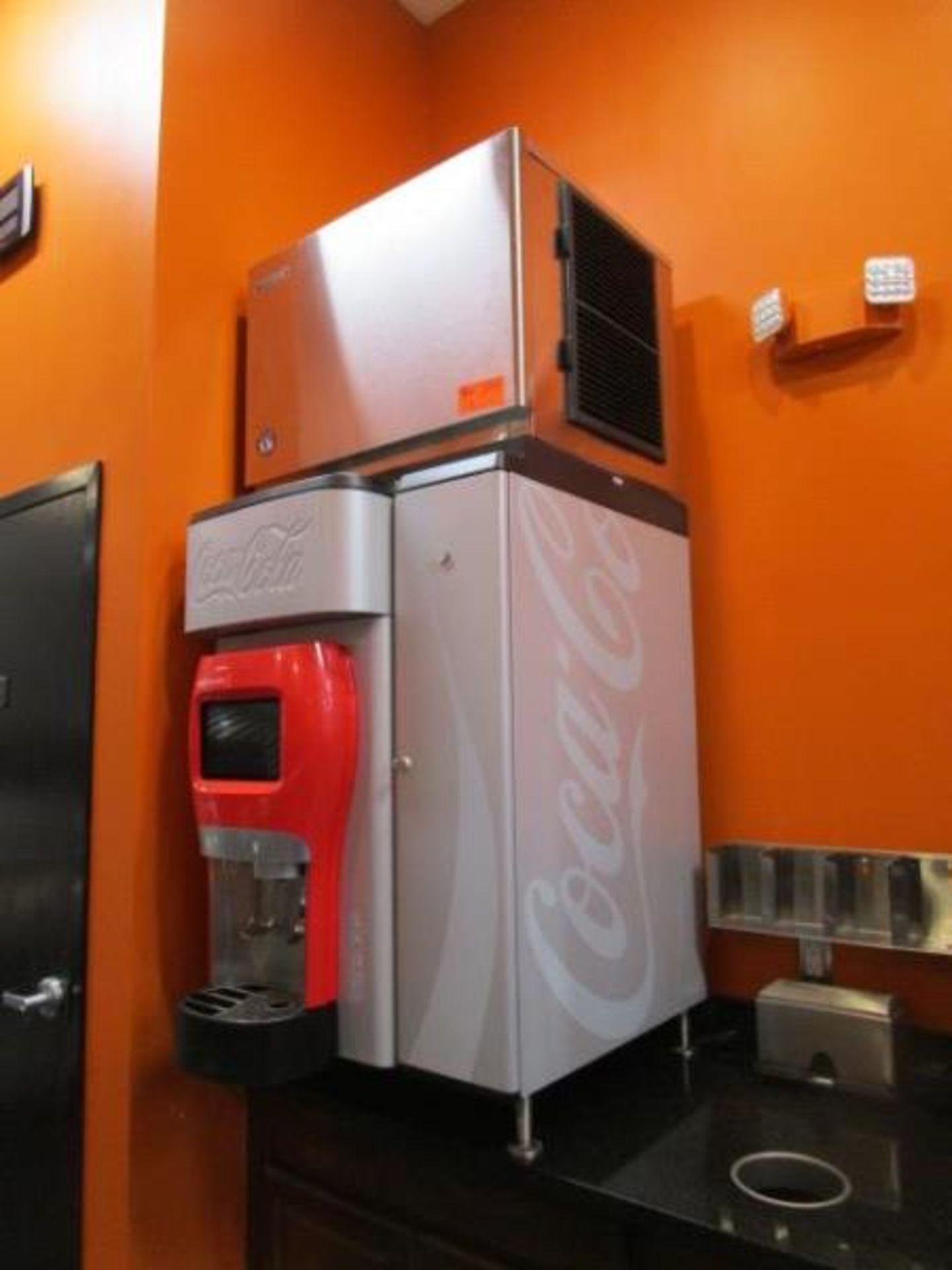 Lot 13 - Hoshizaki Ice Machine w/ No Storage Means, Model: KMD-460MMAH, SN: G01557B