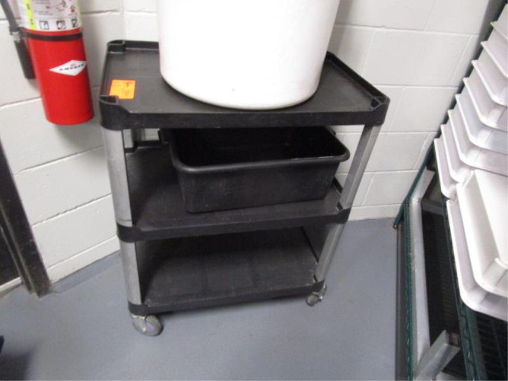 Lot 53 - Three Tier Kitchen Cart