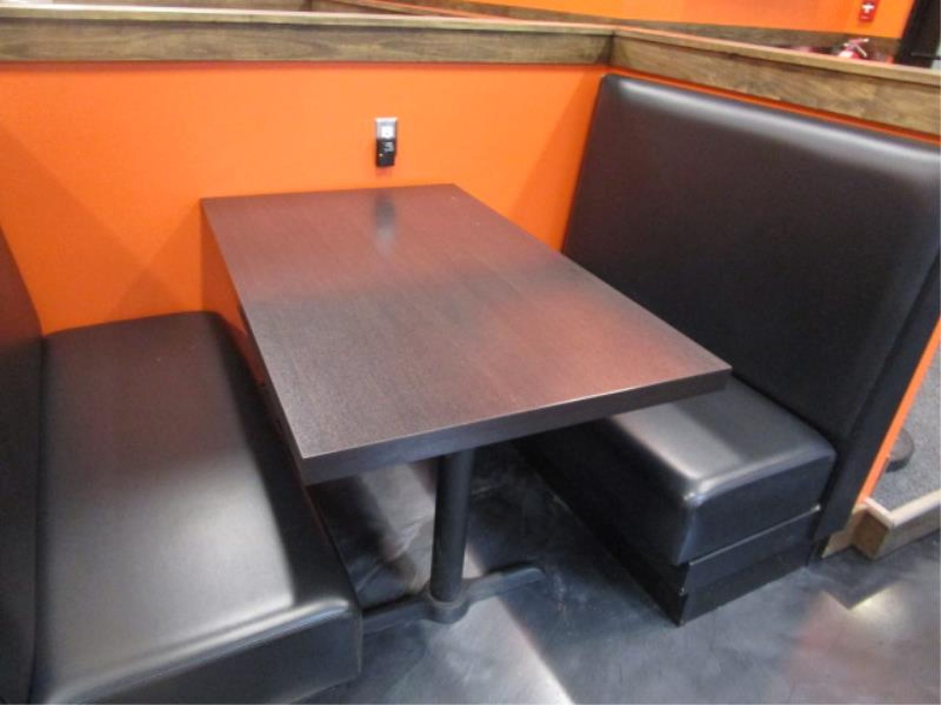 Lot 6 - (6) Four Top Laminate Tables & (1) Two Top Table