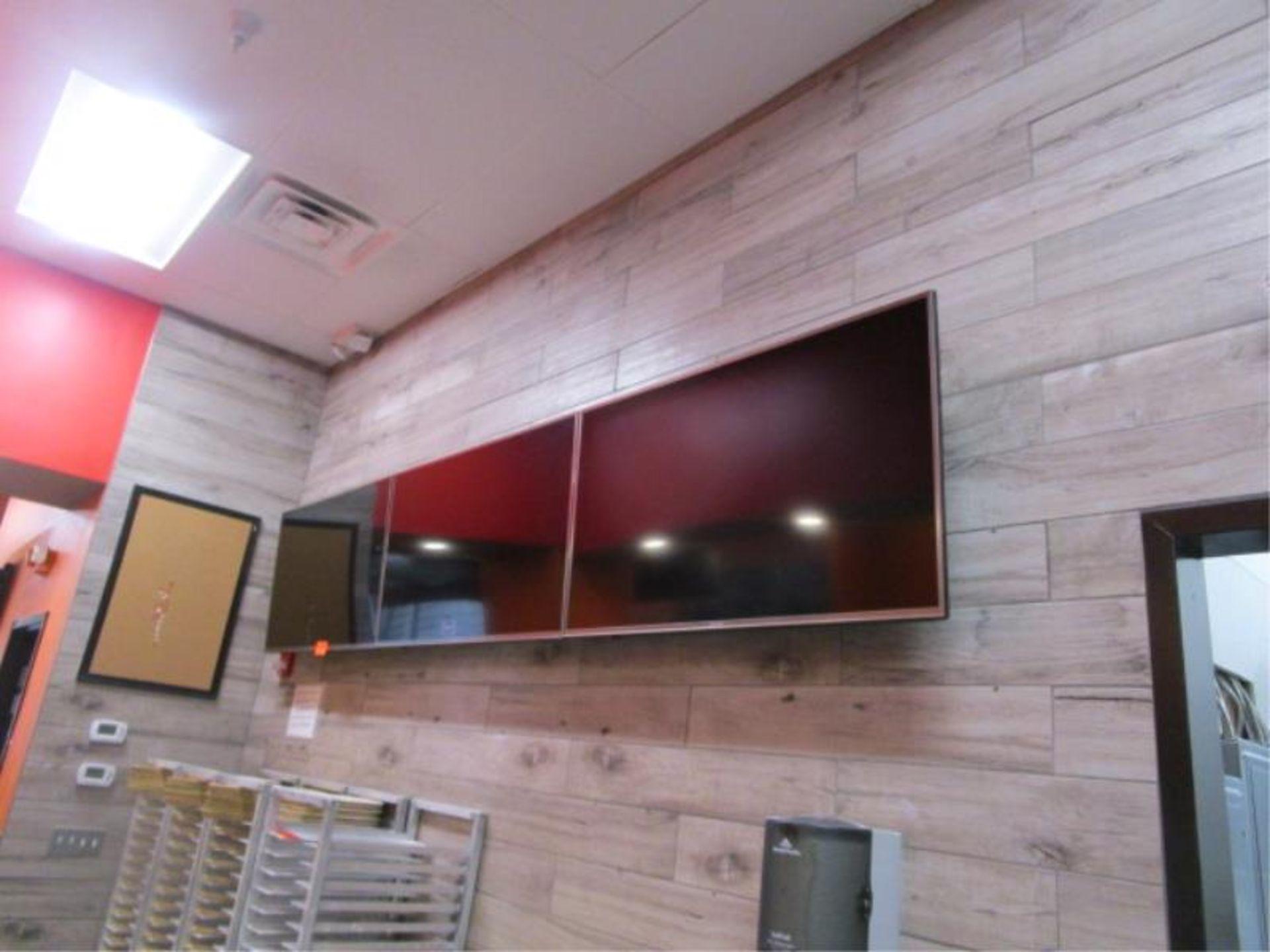 Lot 30 - (3) Sharp TV's w/ Wall Mounting Bracket