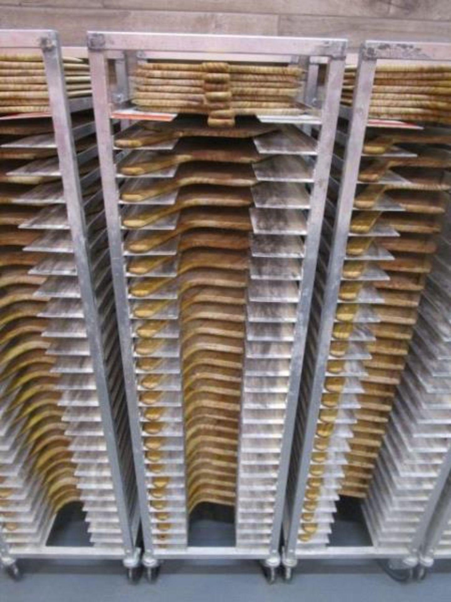 Lot 26 - Sheet Pan Rack by Channel w/ Wood Pizza Peels