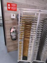 Lot 31 - Sheet Pan Rack by Channel w/ Wood Pizza Peels