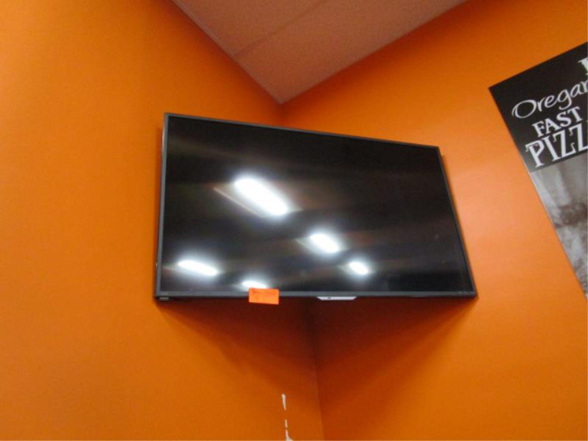 Lot 9 - Sharp Flat Panel TV, Model: LC-55UB3OUB, Liquid Crystal Display