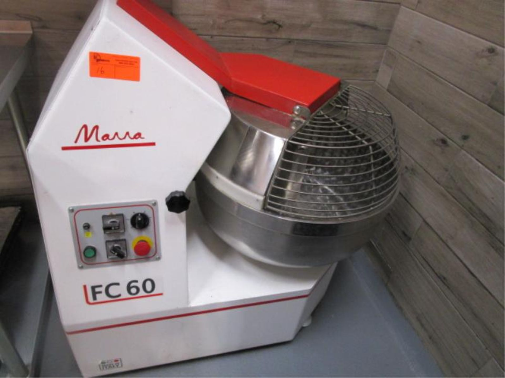 Lot 16 - Marra Forni 60D 70-Qt. Forked Dough Mixer, SN: FCGODUS-098, Made 2017, 208/220 Volt, 60HZ, 3