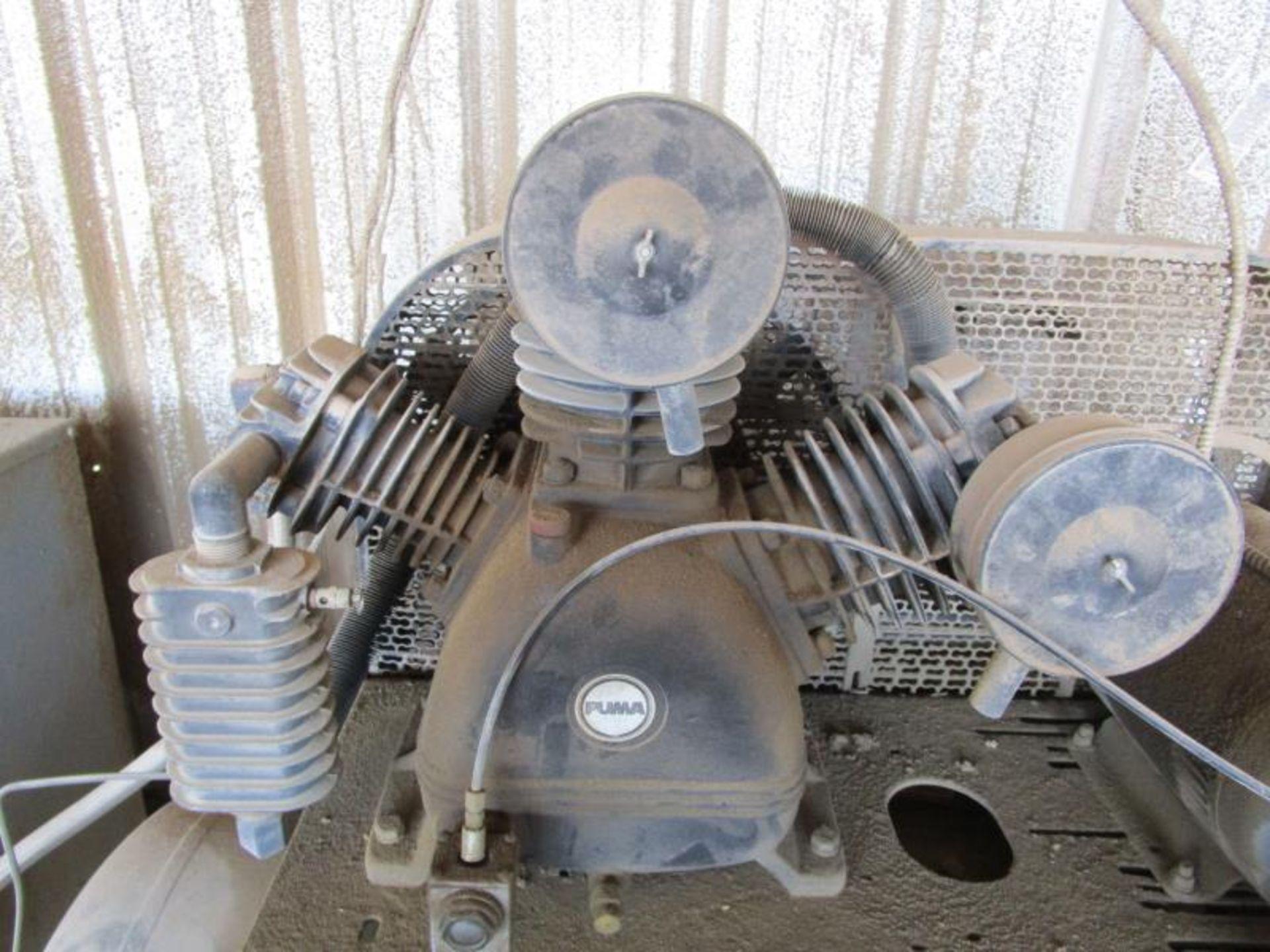 Lot 29 - Air compressor by Puma 2007 m: TK100120M3