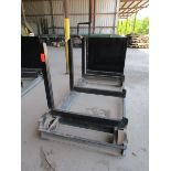 Lot 37 - Steel lumber cart with left hand arm