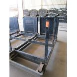 Lot 46 - Steel Lumber cart with right hand arm