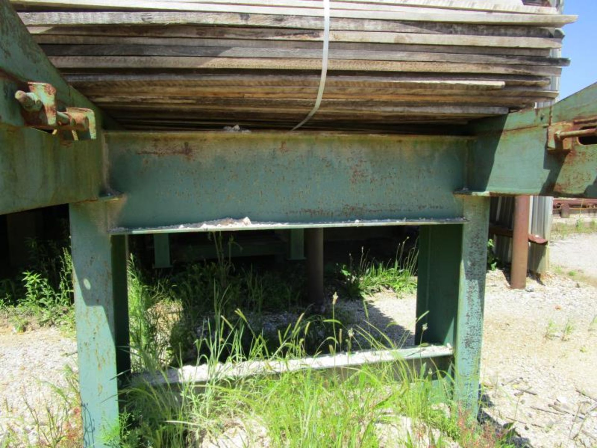 """Lot 22 - Chain deck with electric motor, Chain 64""""W x 19'L"""