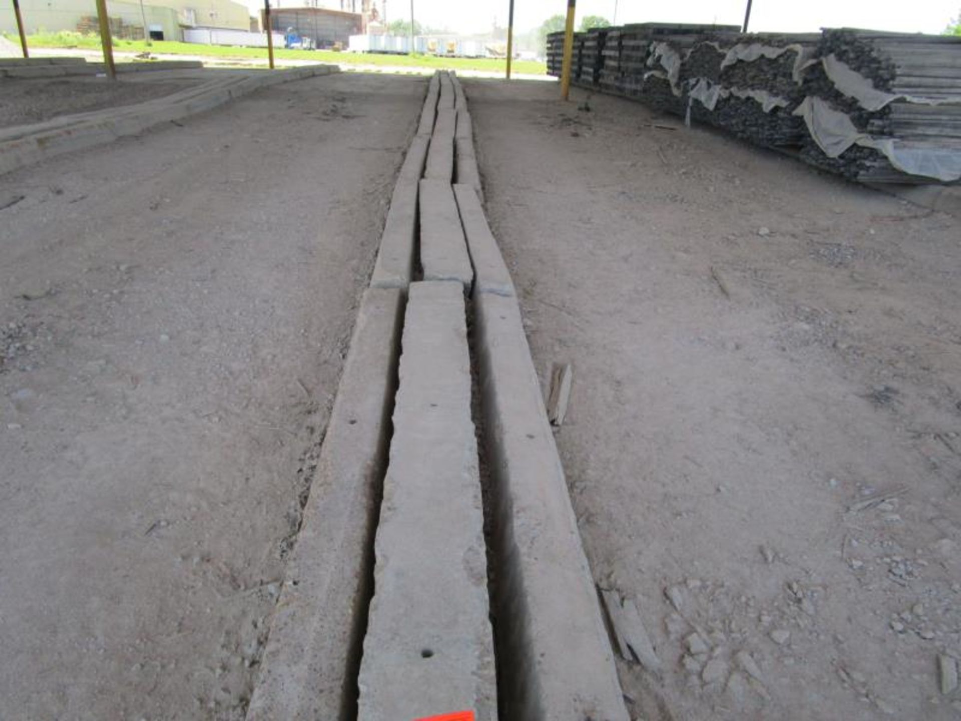 Lot 8 - Approximately 30 Concrete Curbs