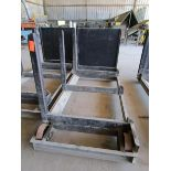 Lot 30 - Steel lumber cart with left hand arm