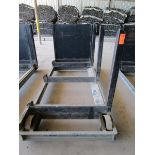 Lot 44 - Steel Lumber cart with right hand arm