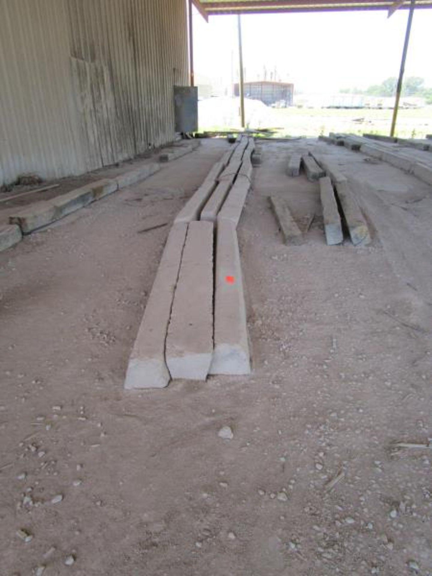 Lot 14 - 39 Concrete Curbs