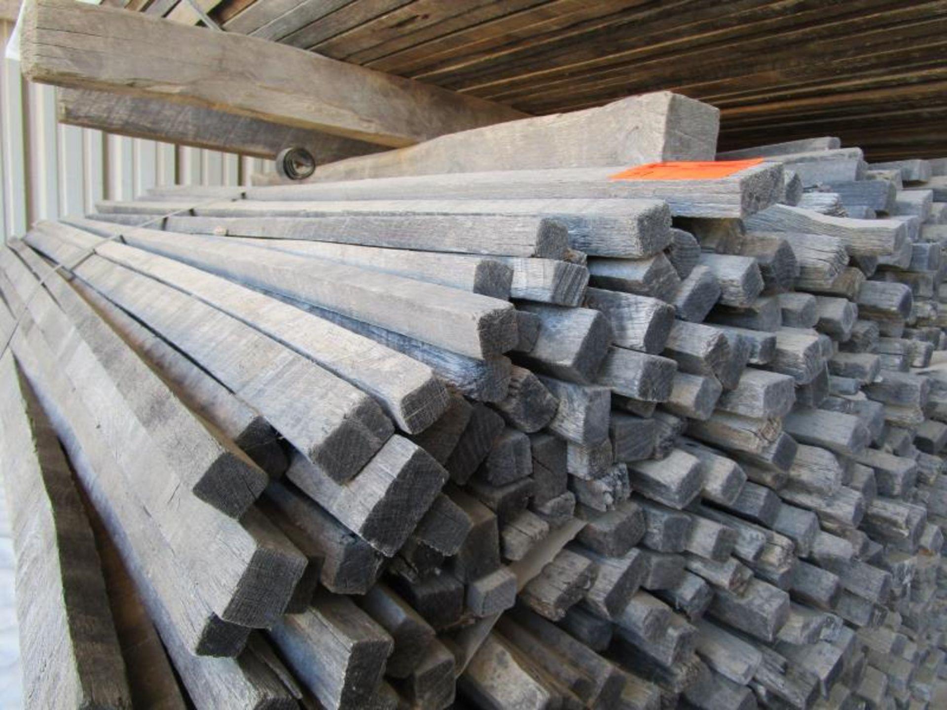 (16) Bundles of wood sticks - Image 3 of 3