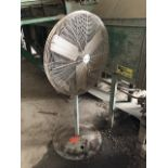 Lot 48 - Pedestal floor fan