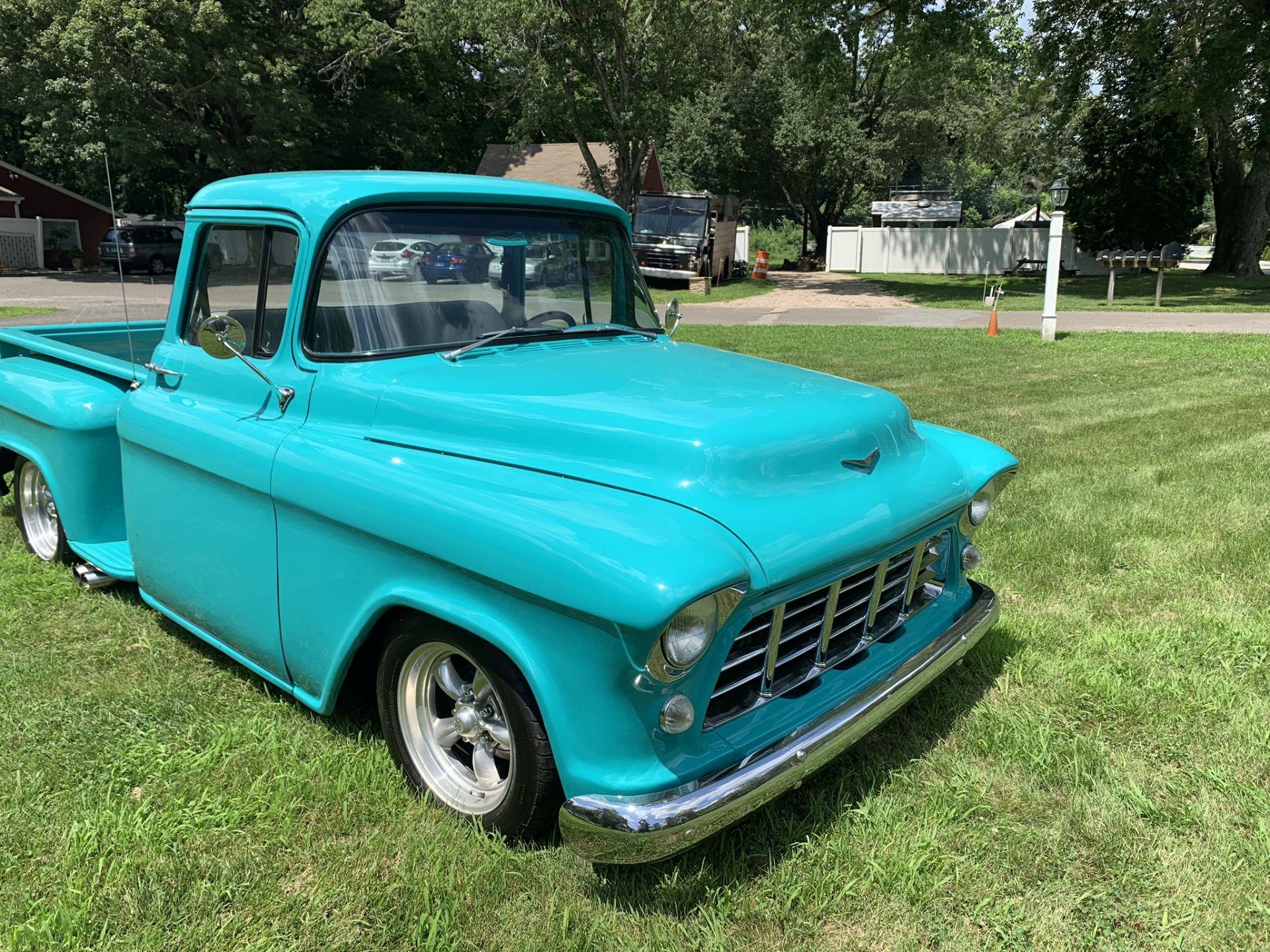Lot 2 - 1955 Chevrolet 3100 Step Side Pickup Truck