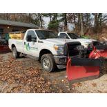 2013 Ford F-350 Super Duty Pickup Truck w/ Plow
