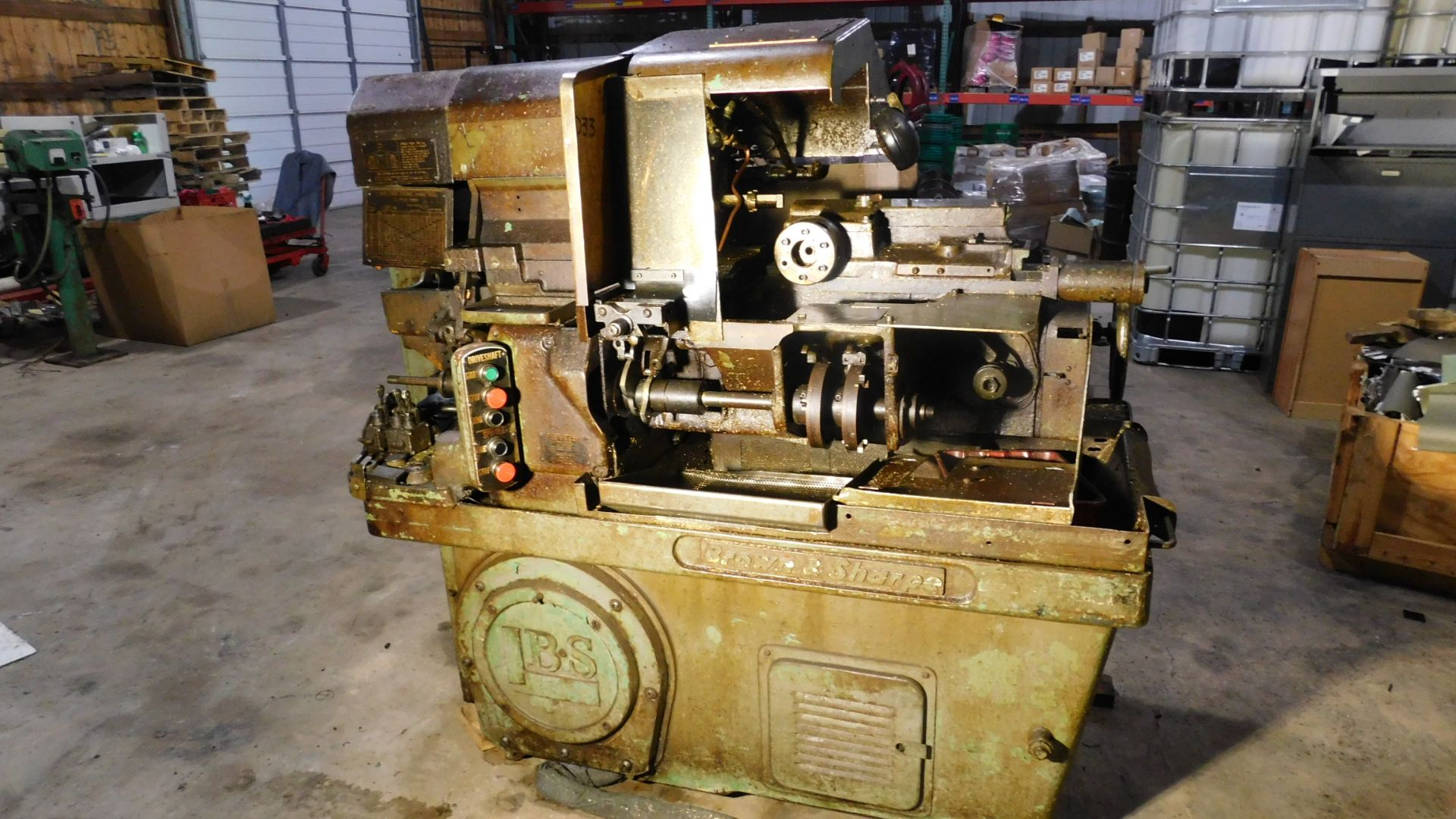 Lotto 16 - Brown & Sharpe #2 Ultramatic Screw Machine, s/n 542-2-4889, 3/4 In. Capacity