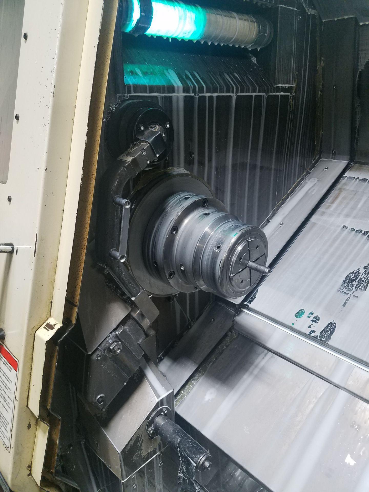 Lotto 26 - Okuma Captain L370 CNC Turning Center, s/n 0019, OSP-E100L CNC Control, Machine Series 780-SB,