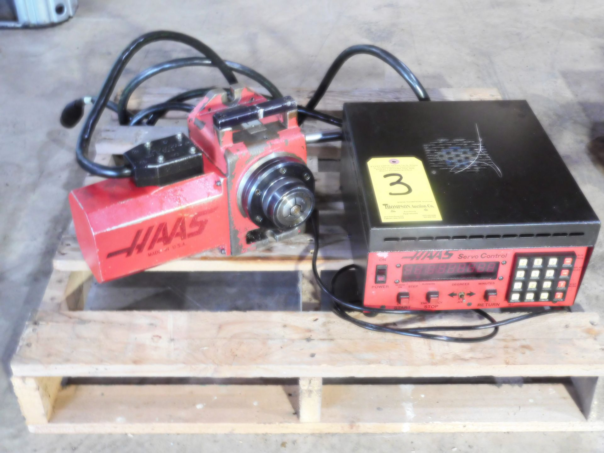 Lotto 3 - Haas HA5C Indexer, with Control Box