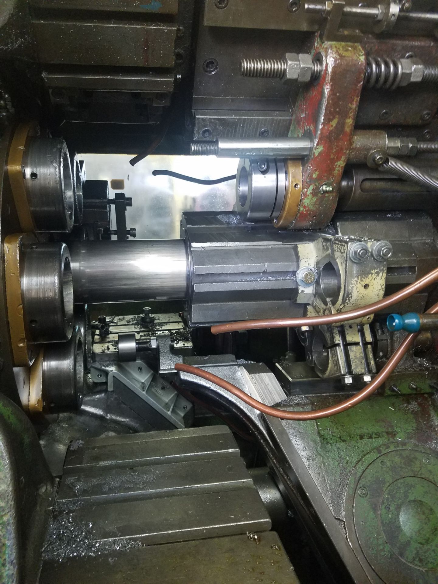 Lotto 22 - Acme Gridley Model RAN6 Automatic Screw Machine, s/n Unknown, 1 In. Capacity, 6 Spindle