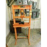 Lot 199 - Central Hydraulics 20 Ton H-Frame Shop Press