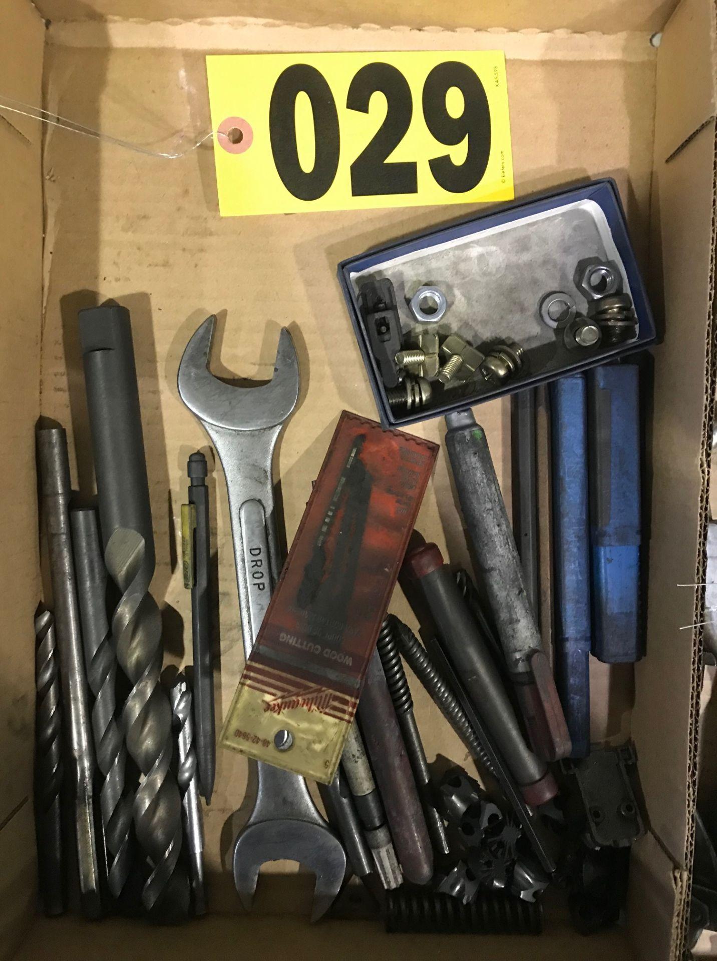 Lot 29 - Drill bits & tools