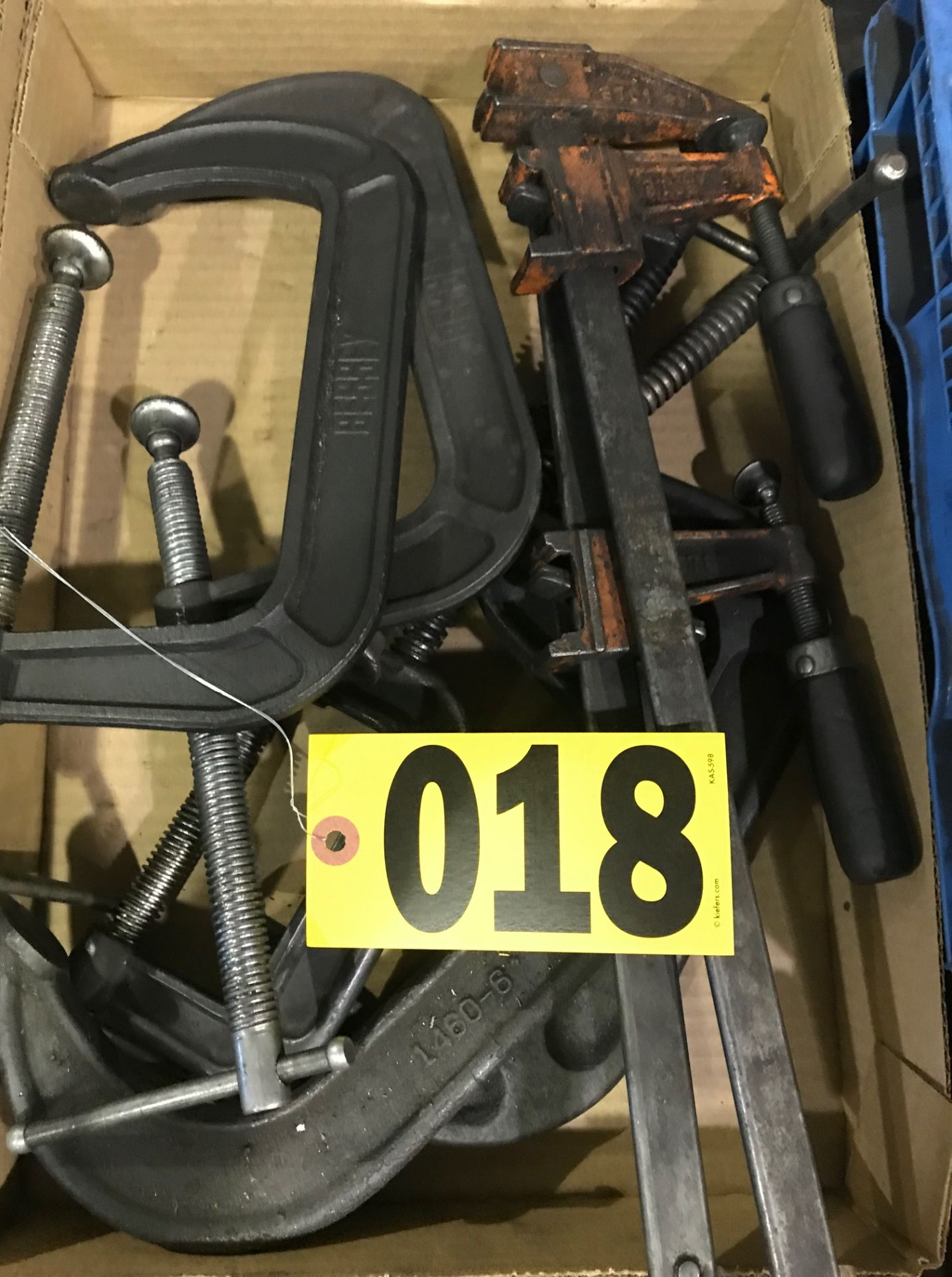 Lot 18 - C-Clamps & others