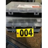 (4) Containers of electrical, springs, & supply boxes