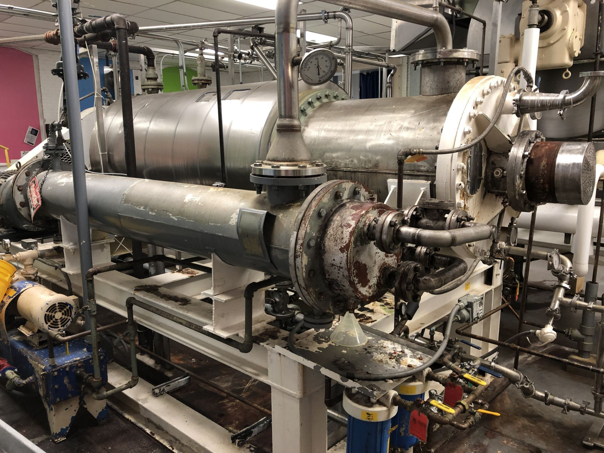 Lot 18 - Kontro Ajust-O-Film Continuous Caramel Cooker steam jacketed and agitated, 1000 to 3000 lbs hr.