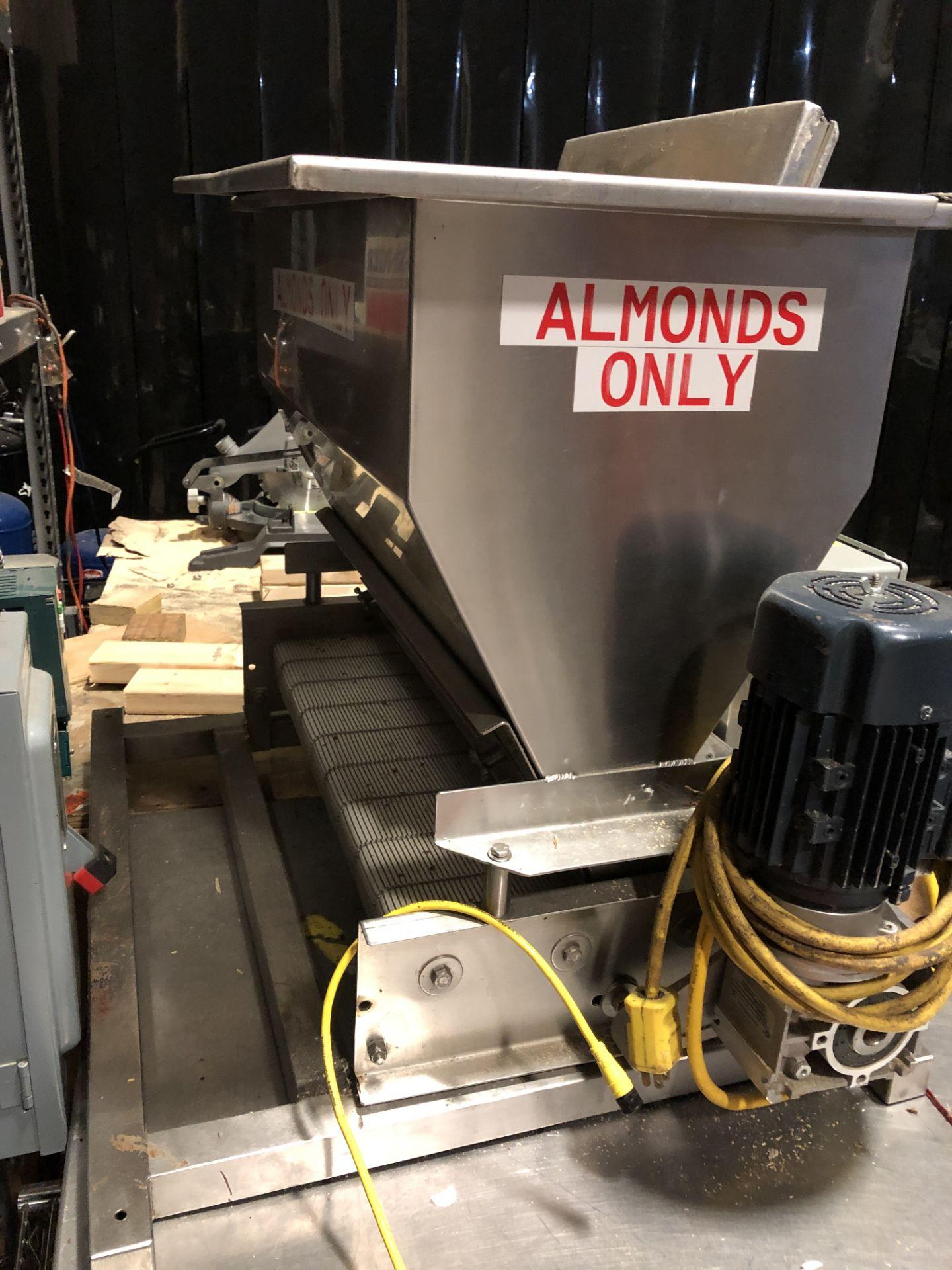 "Lot 13 - Corio Bakery Equipment 24"" wide Versa Topper Stainless Steel variable speed ingredient feeder. 110"