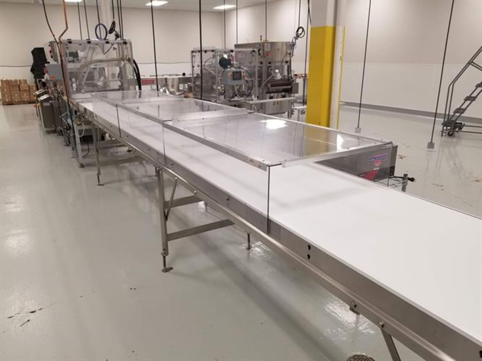 """Savage 24"""" Stainless Steel Enrobing Line - New 2016 Smith 24"""" wide x 8-ft long Stainless Steel - Image 8 of 8"""