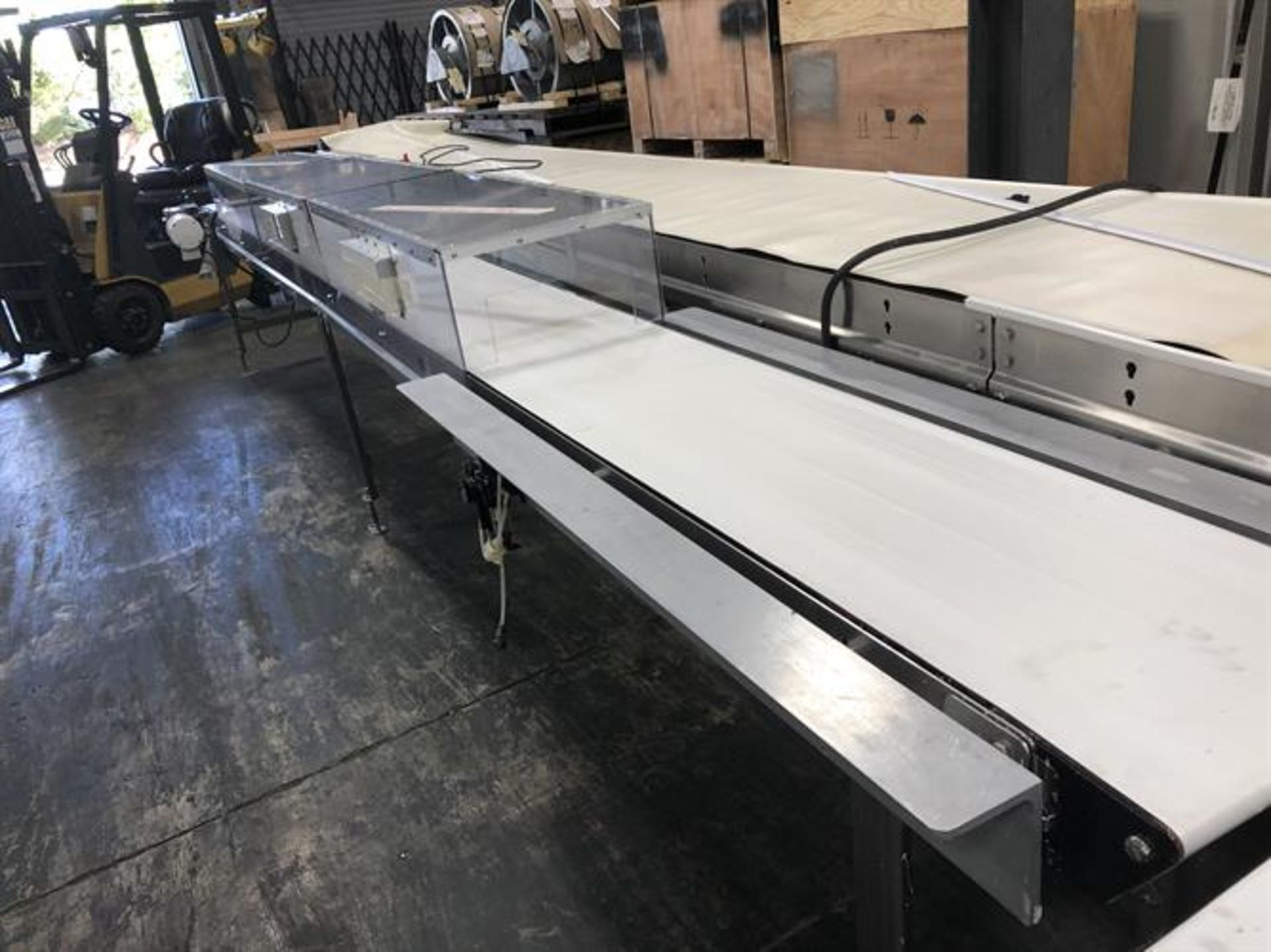 "Lot 24 - Dorner 16"" wide x 20-ft Long Stainless Steel Conveyor"