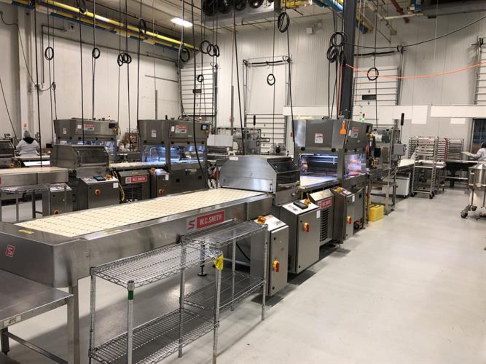 """Savage 24"""" Stainless Steel Enrobing Line - New 2016 Smith 24"""" wide x 8-ft long Stainless Steel"""