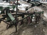 Lot 48 - Oliver 3pt 4 Bottom Plow w/Harrow