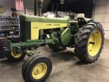 Lot 28 - JD Mdl.730 Diesel S#7311892 Swartz WF, Pwr-Trol, PS, Fenders, Elec. Start, Factory JD 3pt, 18.