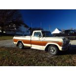 Lot 1 - 1978 Ford Lariat F-150 2wd, 400 V-8, C7Auto, Posi, AC, Air Comp, LP/Gas (one owner)
