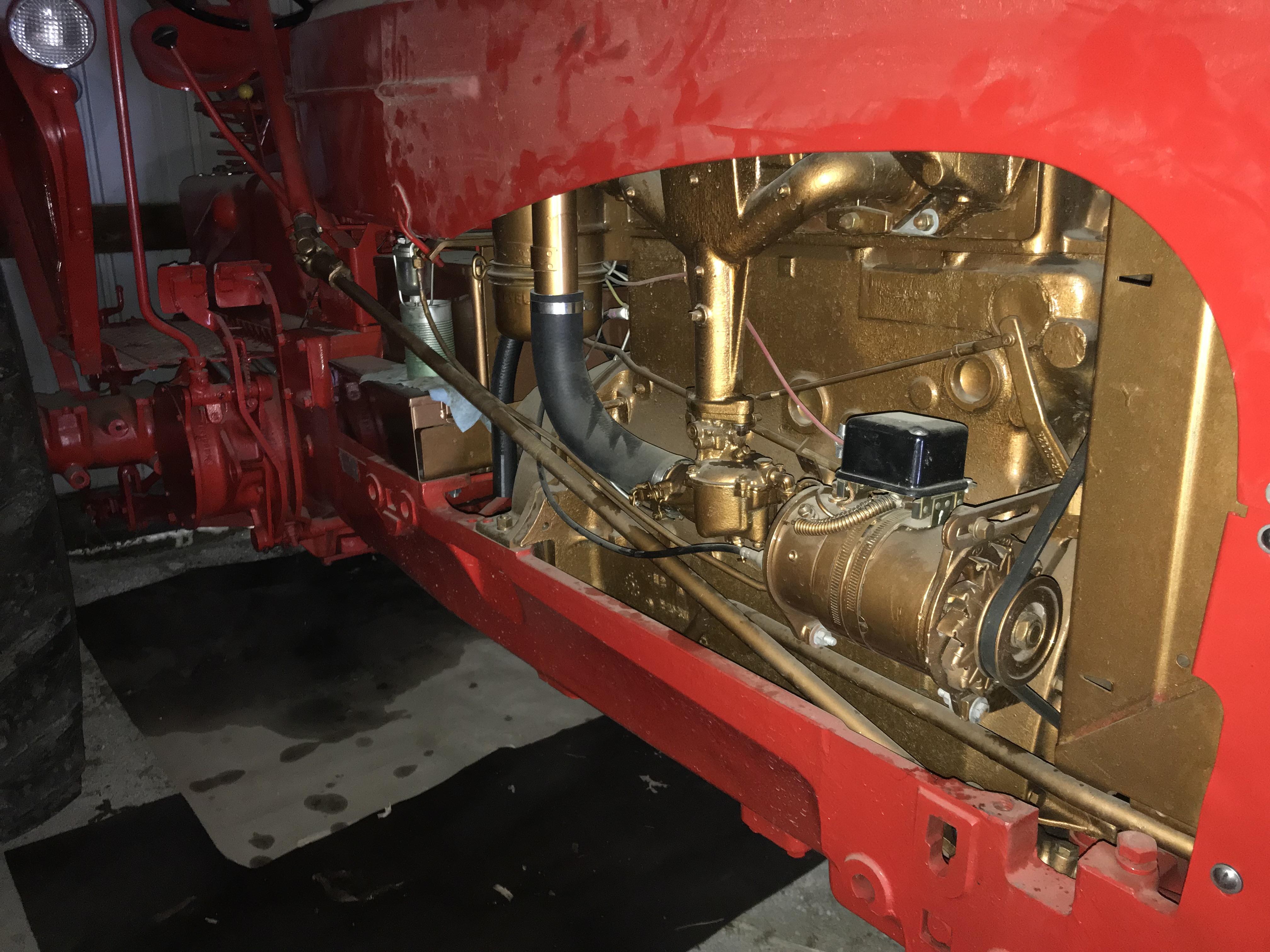 Lot 23 - Massey-Harris Mdl.444 S#71434, WF, New Rubber (older restoration)