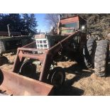 Lot 40 - Mdl.770 Gas S#172-360-021, WF, 2pt/3pt, w/Dual Loader, 7' Bucket & Tractor Kab 13.6x38 Fair