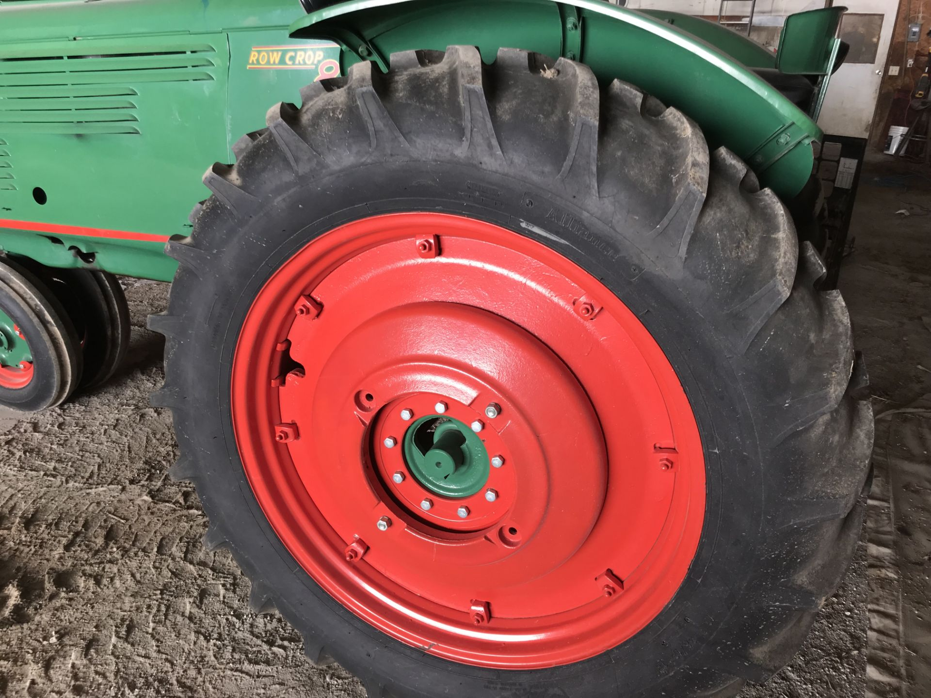 Lot 10 - Mdl.88 S#120916D2 NF, Factory WF, Live PTO, 12x38 New Rubber (restored)