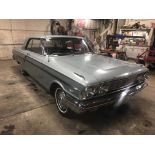 Lot 2 - 1964 Ford Fairlane 500 2dr Sedan, 260 V-8, Auto, PS, 75,808 original miles!