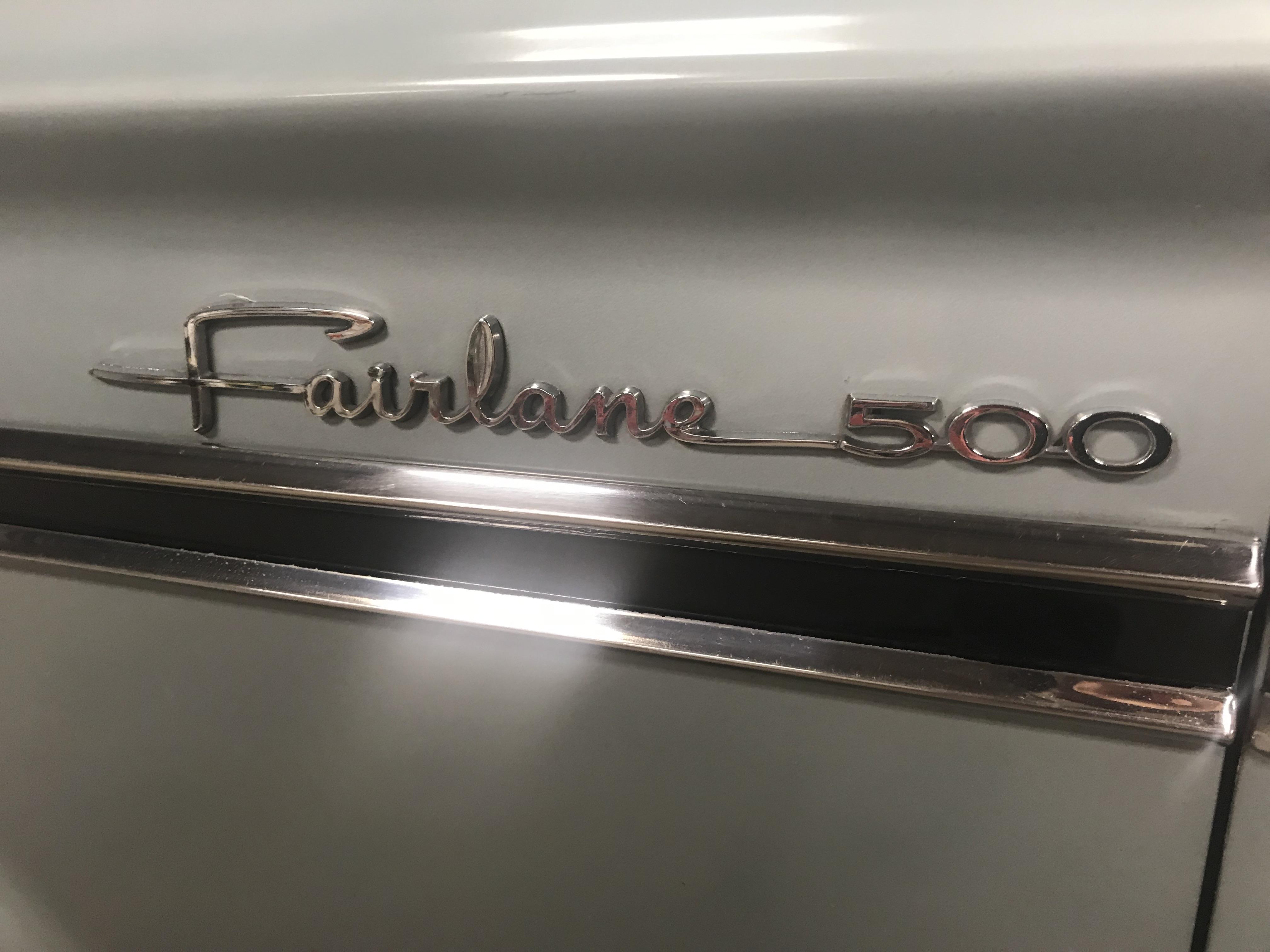 Lot 2 - 1964 Ford Fairlane 500 2dr Sedan, 260 V-8, Auto, PS, 75,808 original miles!
