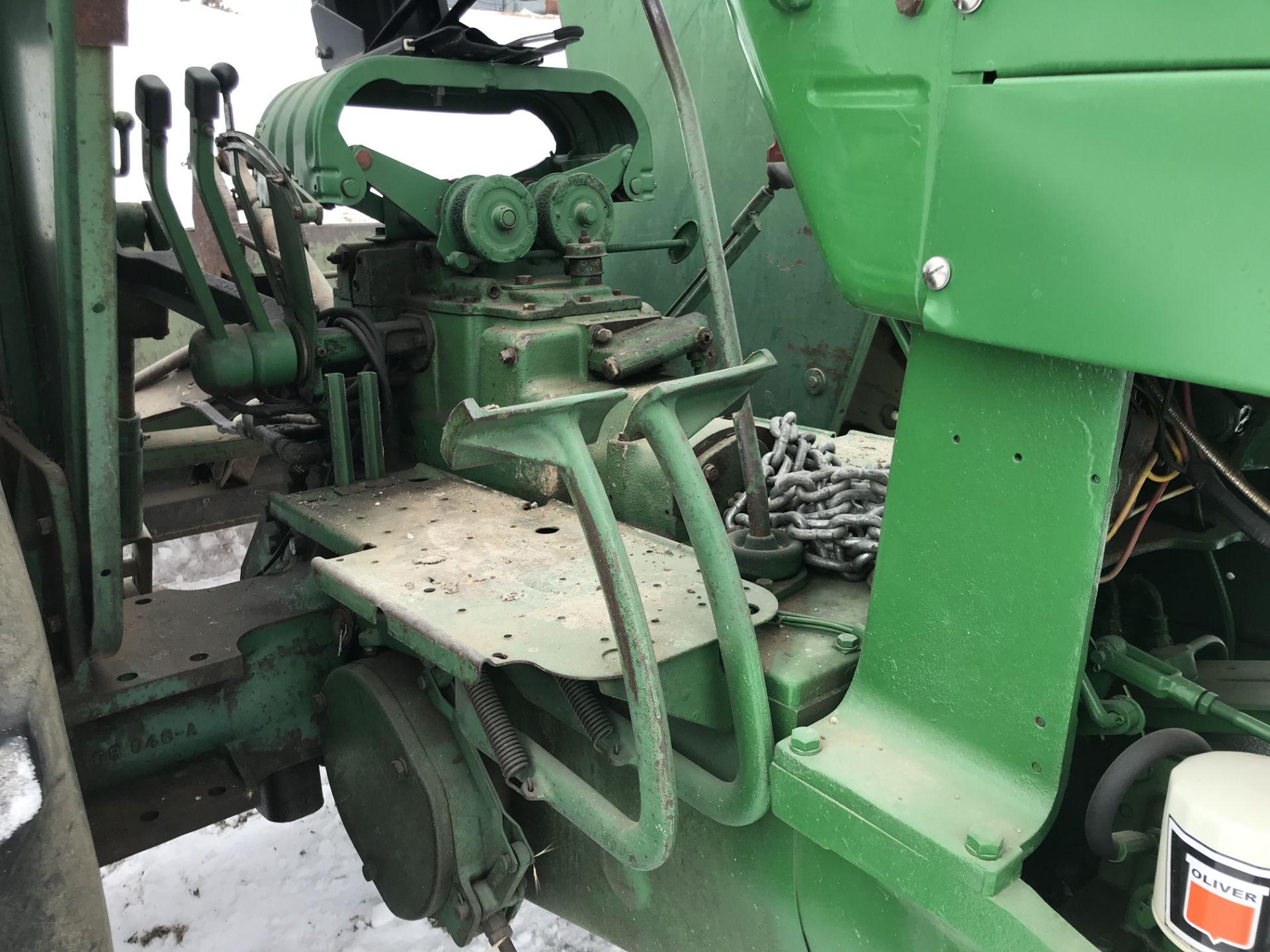 Lot 22 - Mdl.1800 Diesel S#124-875-842, WF, 3pt, Dual Hyd, Frt. Slab Wts, New Frt. Tires, 16.9x34 (rubber