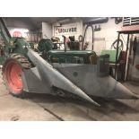 Lot 13 - Mdl.70 S#247324, NF w/Mdl.4 2 Row Corn Picker, 12.4x38 New Rubber (restored) Picker Repainted