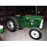Lot 15 - Mdl.550 Diesel S#67180-519, 12.4x28 New Rubber (restored)
