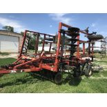 """Lot 37 - Kent Series VI Discovator Mulch Finisher, 20', 8"""" Spacing, 19"""" Blades, Walking Tandems on main"""