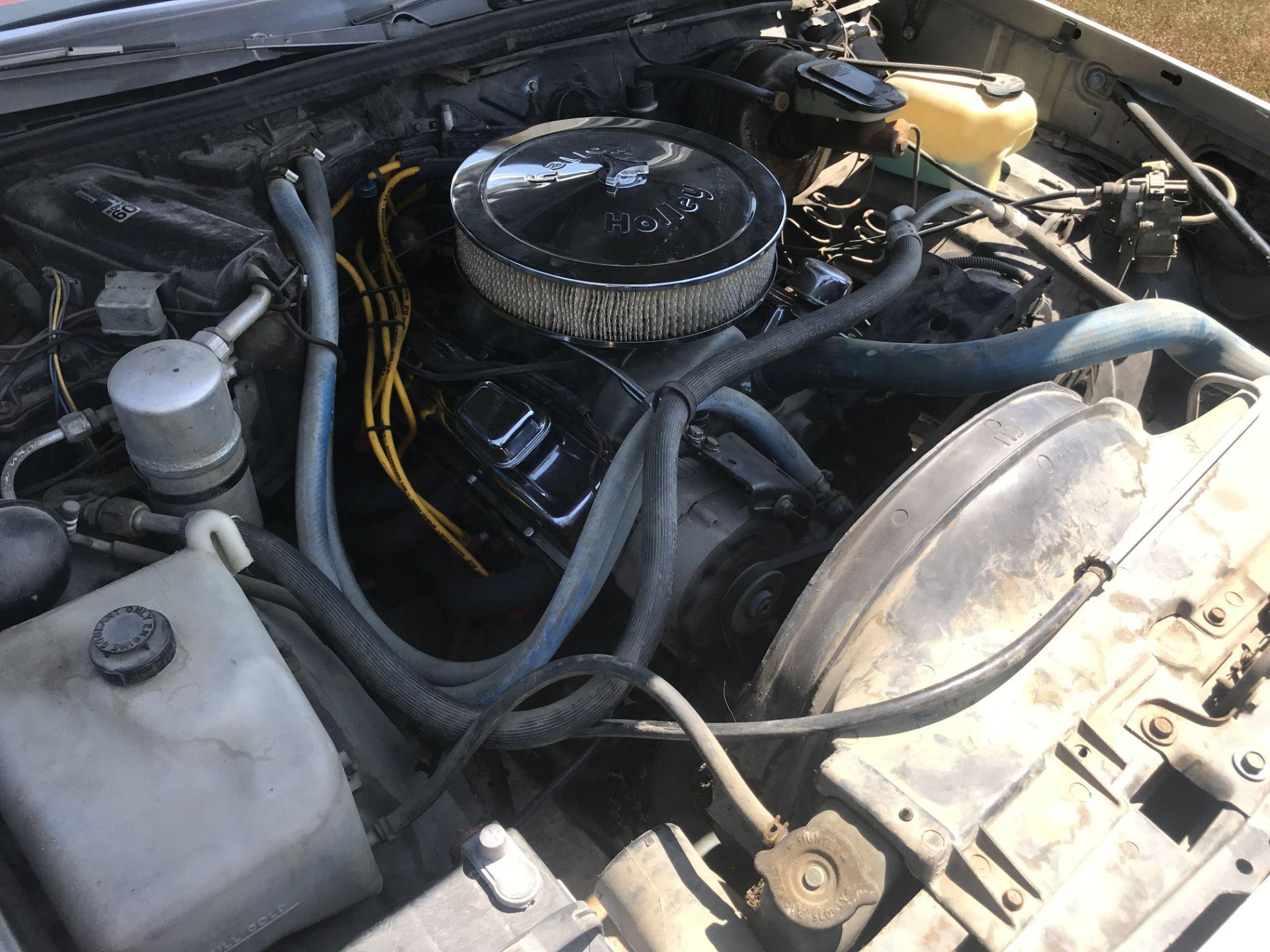Lot 26 - 1979 Oldsmobile Cutlass Calais 2dr, Rebuilt 350 V-8, 350 Turbo Auto w/Floor Shift, 750 Holly 4v,