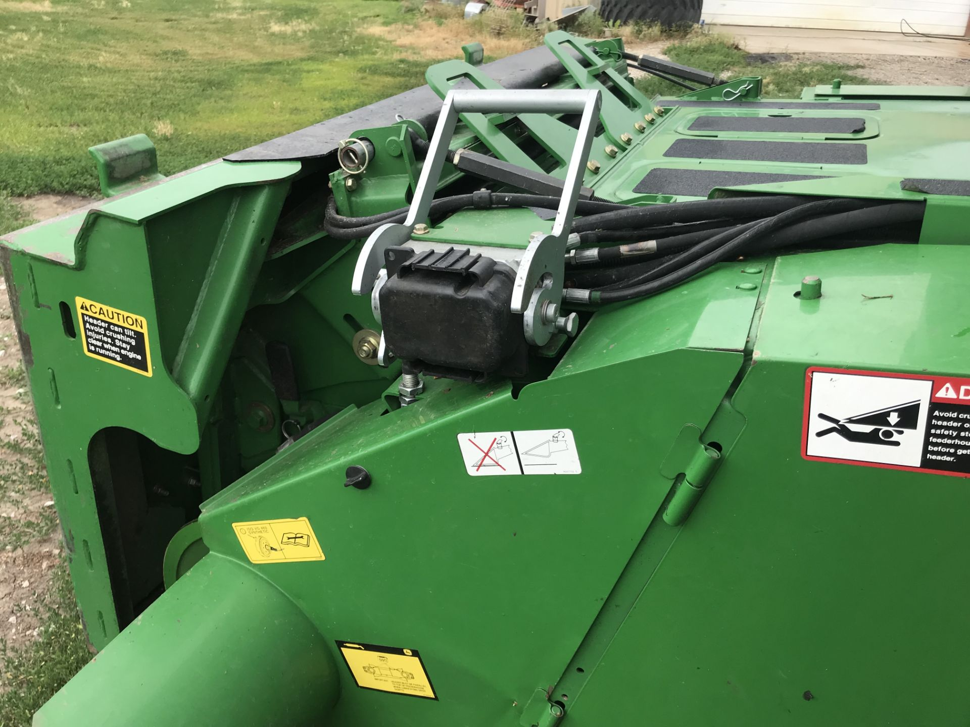 Lot 1 - 2008 JD 9570 STS Bullet Rotor S#725638, Chopper, Premier Cab & Control Center, Contour-Master Feeder