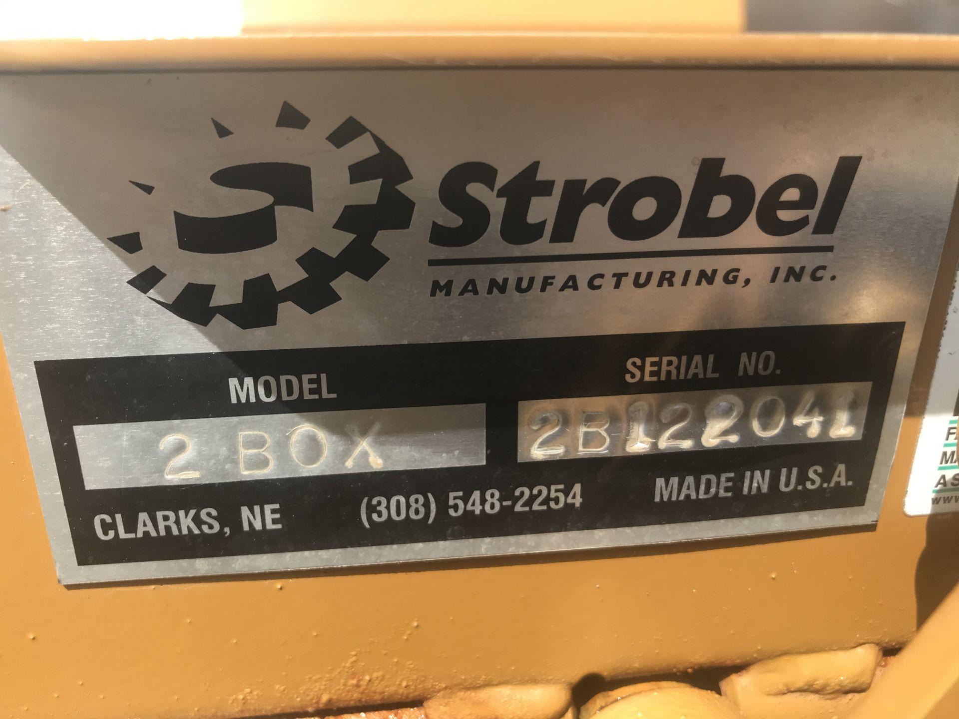 Lot 30 - 2012 Strobel Mdl.2 Box Seed Tender S#2B122041, Hyd. Fold Auger, Honda GX160 Elec. Start (1 owner).