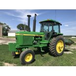 Lot 15 - JD 4430 S#47947, Quad Range, 2 Remotes, Frt. Wts, Good 18.4Rx38 w/Duals, QH, 6742hrs (repainted, 2nd