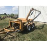 Lot 30 - 2012 Strobel Mdl.2 Box Seed Tender S#2B122041, Hyd. Fold Auger, Honda GX160 Elec. Start (1 owner).